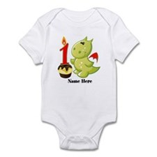 1st Birthday Baby Dragon Infant Body Suit