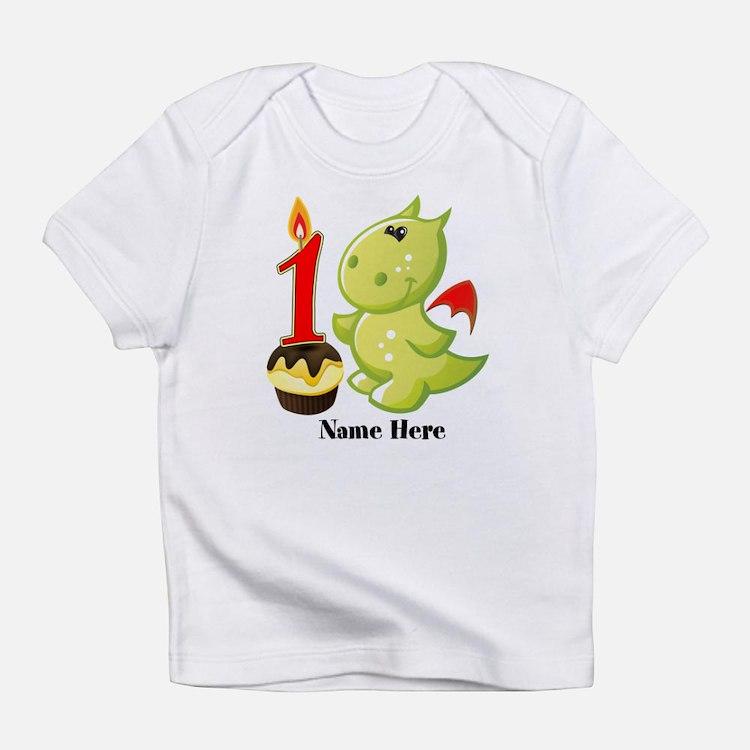 1st Birthday Baby Dragon Infant T-Shirt
