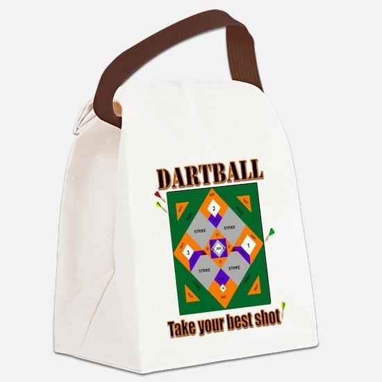 Unique Darts Canvas Lunch Bag