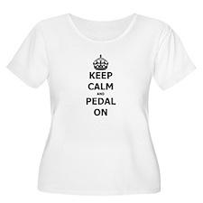 Pedal On Plus Size T-Shirt
