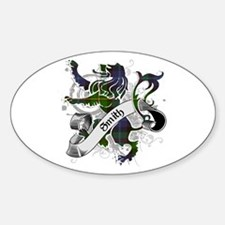 Smith Tartan Lion Decal