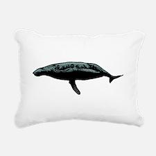 Humpback Whale Rectangular Canvas Pillow