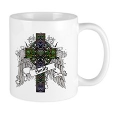 Smith Tartan Cross Small Mug