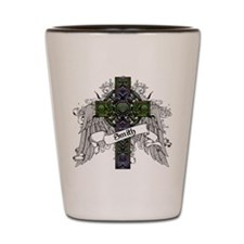 Smith Tartan Cross Shot Glass