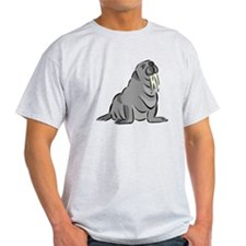 Cartoon Walrus T-Shirt