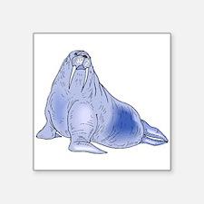 Blue Walrus Sticker