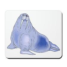 Blue Walrus Mousepad