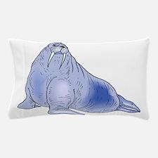 Blue Walrus Pillow Case