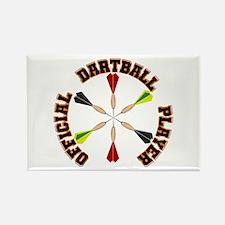 Dartball Player Magnets