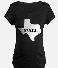 Texas Yall Maternity T-Shirt
