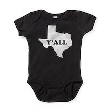 Cute Texan Baby Bodysuit