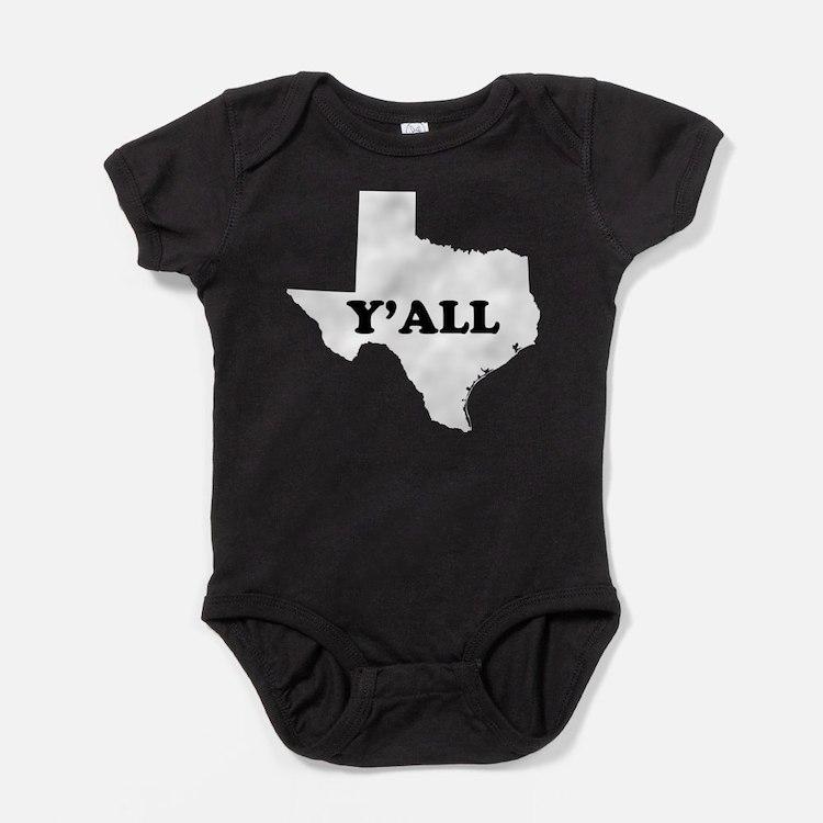 Cute Yall Baby Bodysuit