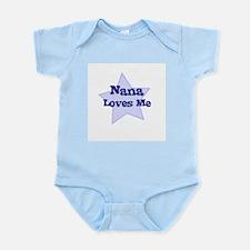 Unique I love nana infant Infant Bodysuit