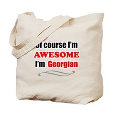 Georgia Is Awesome Tote Bag