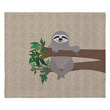 Sloth King Duvet