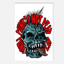 Punk's Not Dead Postcards (Package of 8)