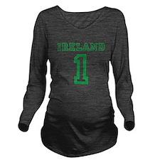 IRELAND #1 Long Sleeve Maternity T-Shirt
