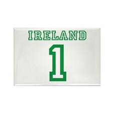 IRELAND #1 Rectangle Magnet