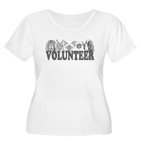 Volunteer Women's Plus Size Scoop Neck T-Shirt