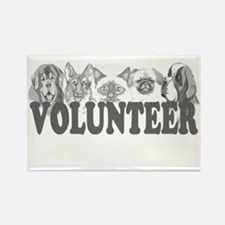 Volunteer Rectangle Magnet