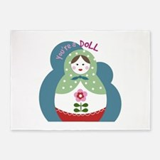 Youre A Doll 5'x7'Area Rug