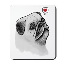 PugSketch_PC Mousepad