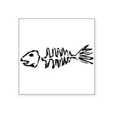 Fish Bones Sticker
