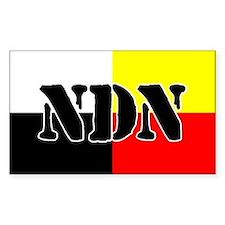 NDN Rectangle Decal