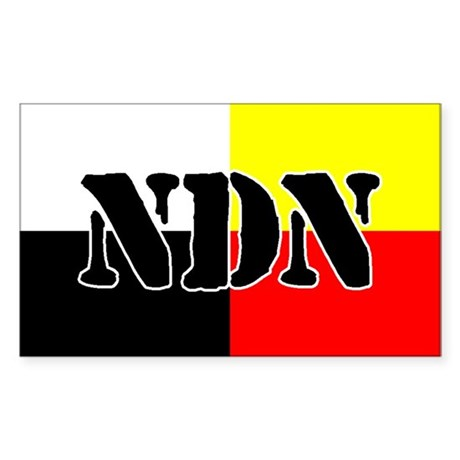 NDN Rectangle Sticker