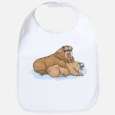Walrus And Pup Bib