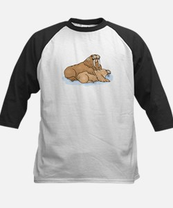 Walrus And Pup Baseball Jersey