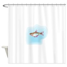 Head And Taillight Tetra Fish Shower Curtain