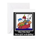 Three Wise Men Greeting Cards (Pk of 10)