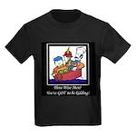 Three Wise Men Kids Dark T-Shirt