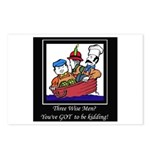 Three Wise Men Postcards (Package of 8)