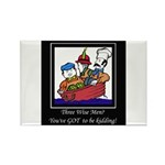 Three Wise Men Rectangle Magnet (100 pack)