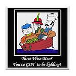 Three Wise Men Tile Coaster