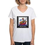Three Wise Men Women's V-Neck T-Shirt