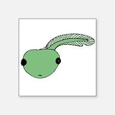 Green Tadpole Sticker