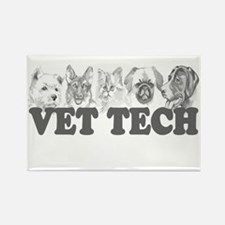 Vet Tech Rectangle Magnet (10 pack)