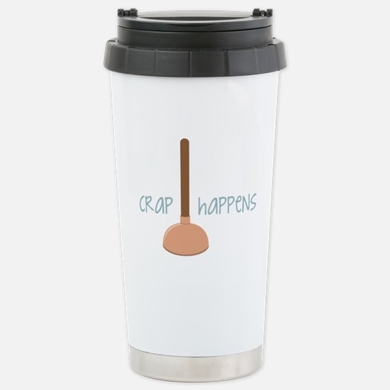 Crap Happens Travel Mug