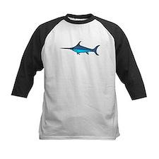 Blue Swordfish Baseball Jersey