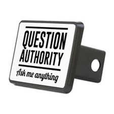 Question Authority Ask me anything Hitch Cover