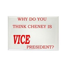 VICE president Rectangle Magnet
