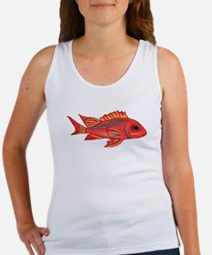 Red Snapper Fish Tank Top