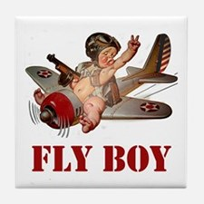 FLY BOY Tile Coaster