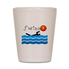 Swimmer Shot Glass
