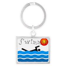 Swimmer Keychains