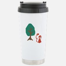 Monkey And Tree Travel Mug