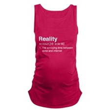 Reality Definition Maternity Tank Top